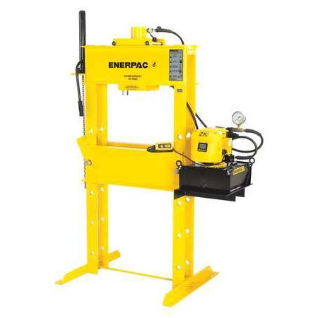 ENERPAC IPE15065 Hydraulic Press,150 t,Electric Pump