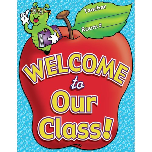 Teachers Friend Chart Welcome To Our Class Poster