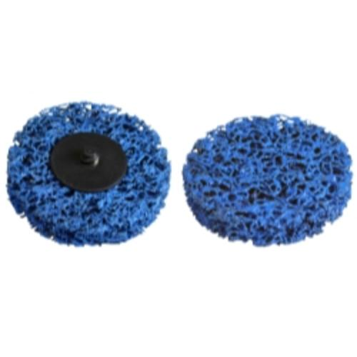 "Astro Pneumatic 22611 3"" Blue Woven Strip Disc"