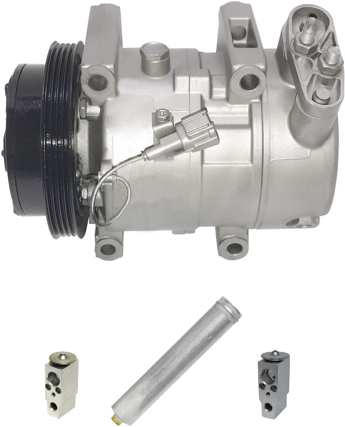 RYC Remanufactured AC Compressor Kit KT E066