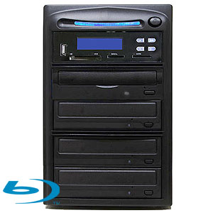 SySTOR 1:3 Blu-ray BDXL Disc Duplicator + USB/SD/CF to Disc Backup Copier Tower