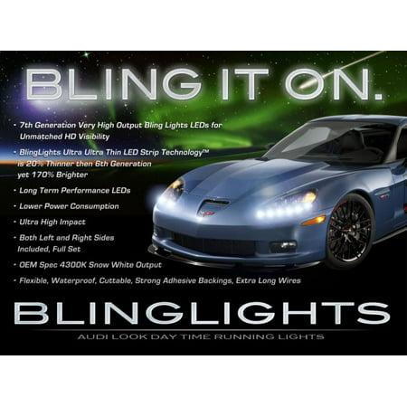 Chevrolet Corvette C4 C5 C6 LED DRL Light Strips for Headlamps Headlights Head Lamps Strip Lights (Weather Stripping Corvette C4)