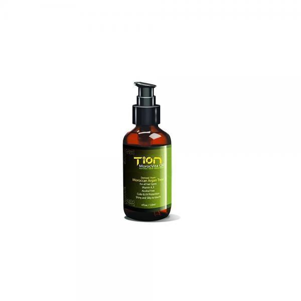 tion morocvita oil - natural organic argan oil 4.0 oz / 120ml