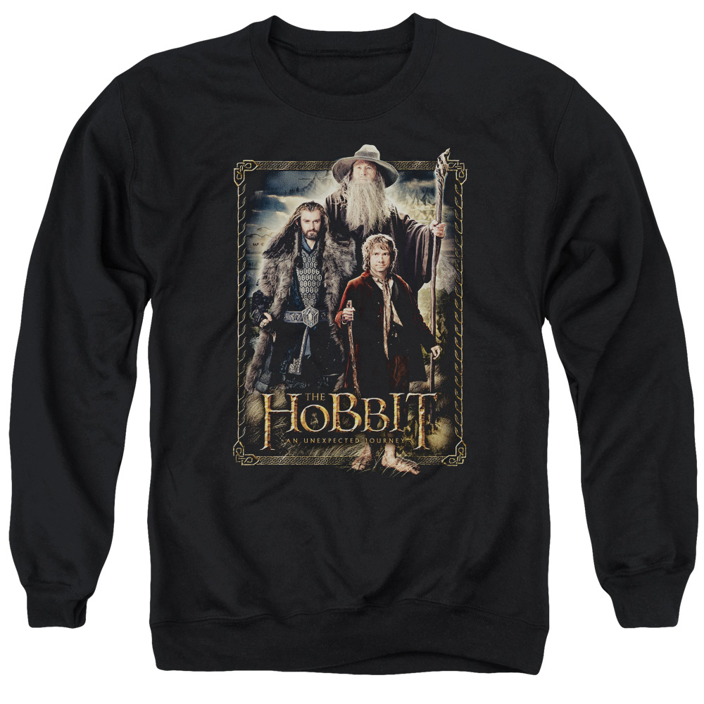 The Hobbit The Three Mens Crewneck Sweatshirt