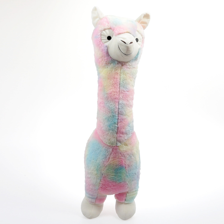 30 Stuffed Animal Rainbow Llama Plush Toy Walmart Com