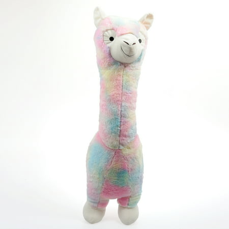 "30"" Stuffed Animal Rainbow Llama Plush Toy"
