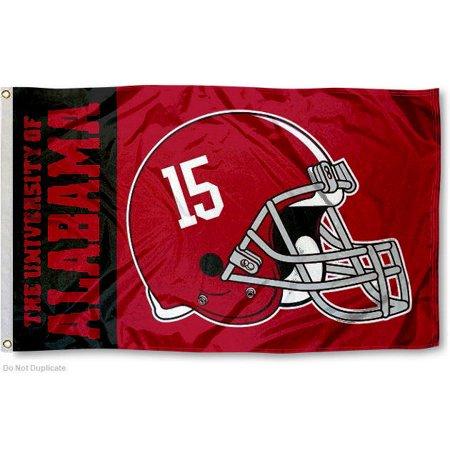 Alabama Crimson Tide 15 Football Helmet 3 X 5 Pole Flag