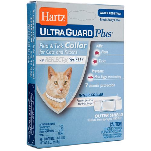 Hartz Ultra Guard Plus Flea and Tick Collar for Cats and Kittens