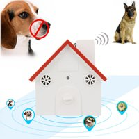 Ultrasonic Waterproof Dog Anti Bark House Controller Silencer Stopper Bark Control Birdhouse Anti Bark Device Dog Barking Control Devices Outdoor Indoor