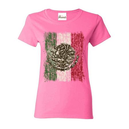 Mexico Flag Women's T-Shirt Cinco de Mayo Shirts