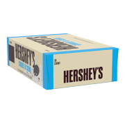 Hershey's Cookies n Crème, Standard Candy Bar Box, 1.55 oz, 36 Ct.