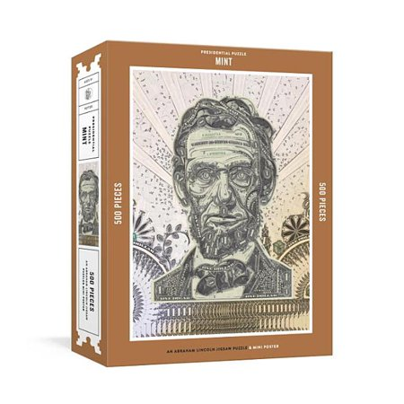 Presidential Puzzlemint 500-Piece Puzzle: An Abraham Lincoln Jigsaw Puzzle & Mini-Poster: Jigsaw Puzzles for Adults (Other)