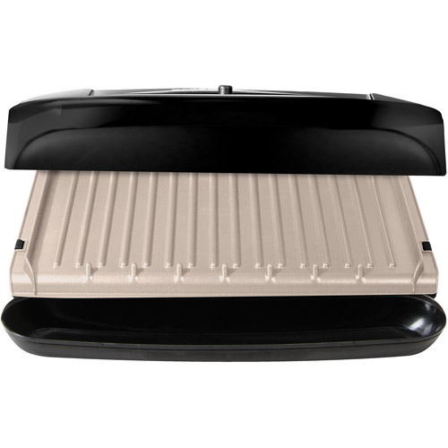 George With Grill Foreman Removable Plates Black