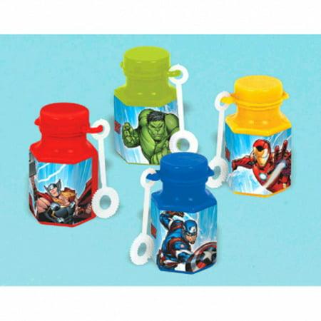 Avengers 'Epic' Mini Bubbles / Favors (12ct) (Avengers Favors)