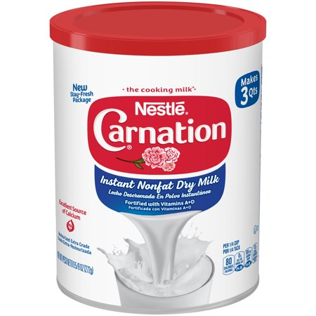 Nonfat Dry Milk Powder - (2 pack) Carnation Instant Nonfat Dry Milk 9.63 oz, Canister