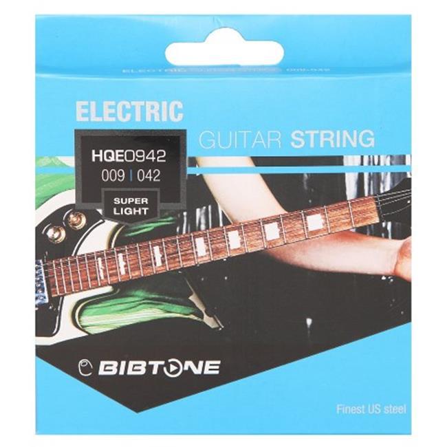 Bibtone HQE 0942 HQ Electiric Guitar String, 09-42 by Bibtone