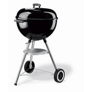 "Weber One Touch Silver 18.5"" Charcoal Grill, Black"