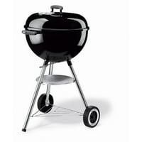 """Weber Original Kettle Charcoal Grill, 18"""" Black"""