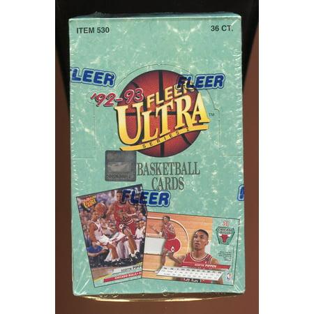 1992 93 Fleer Ultra Series 1 NBA BASKETBALL Card Box