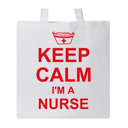 Nurse Tote Bag (Keep Calm I'm A Nurse Tote)
