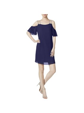 469dfe710a61 Product Image MSK Womens Cold Shoulder Shift Clubwear Dress