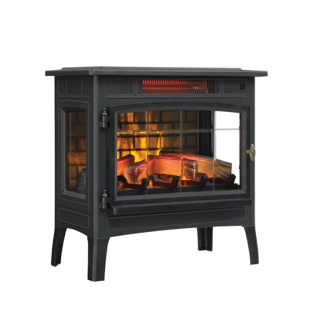 f08934fcb1d Duraflame Infrared Quartz Fireplace Stove with 3D Flame Effect ...