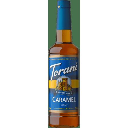Torani Sugar Free Caramel Syrup -