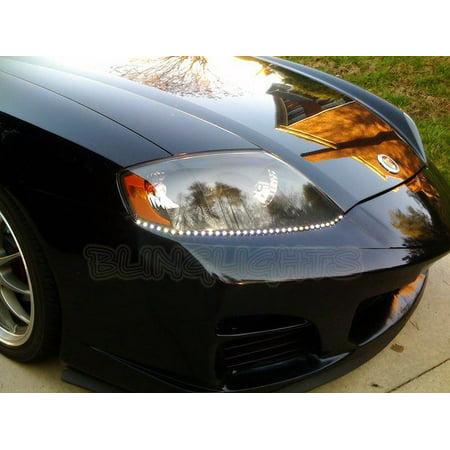 Hyundai Tiburon Led Drl Strips For Headlamps Headlights Head Lamps Day Time Running Lights Leds Drls