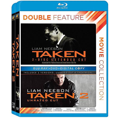 Taken / Taken 2 (Blu-ray) (Widescreen)