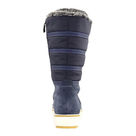 Women's Santana Canada Mackenzie2 Tall Boot Blue Nylon/Suede 7 M - image 4 of 6