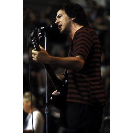Eddie Vedder of Pearl Jam performing at the Tibetan Freedom Concert at the Robert F Kennedy Stadium Photo