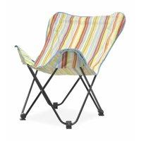 Urban Shop Rainbow Surfer Stripe Butterfly Chair