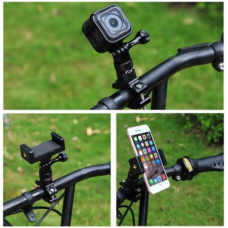 Aluminum Alloy Bike Bicycle Handlebar Stand Mount Holder for GoPro Hero