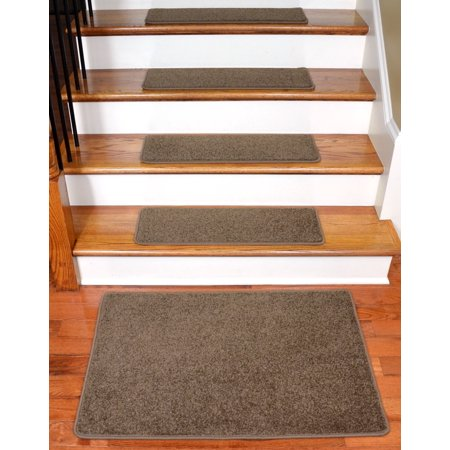 Dean Flooring Company Rich Earth Plush Carpet Stair Tread Rugs 27