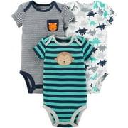 Child of Mine by Carter's Newborn Baby Boy 3 Pack Bodysuit
