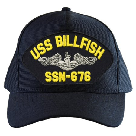USS Billfish SSN-676 ( Silver Dolphins ) Submarine Enlisted Cap ()