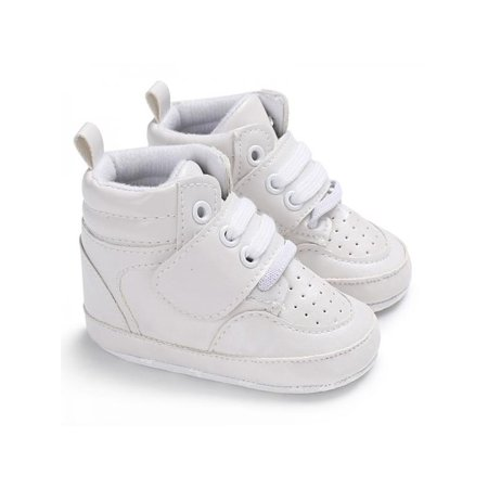 Maraso Baby Boys High Top Soft Sole First Walkers Antislip Shoes