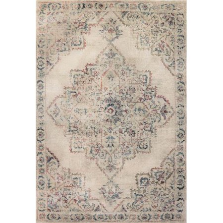Dynamic Rugs BA247712110 2 ft. x 3 ft. 11 in. Bali 7712 Rectangle Contemporary Area Rug - 110
