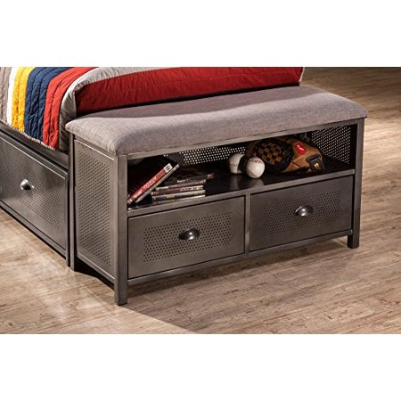 Hillsdale Urban Quarters Footboard Bench - Free Standing