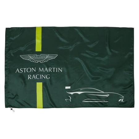 Aston Martin Racing Team Car Flag in Green
