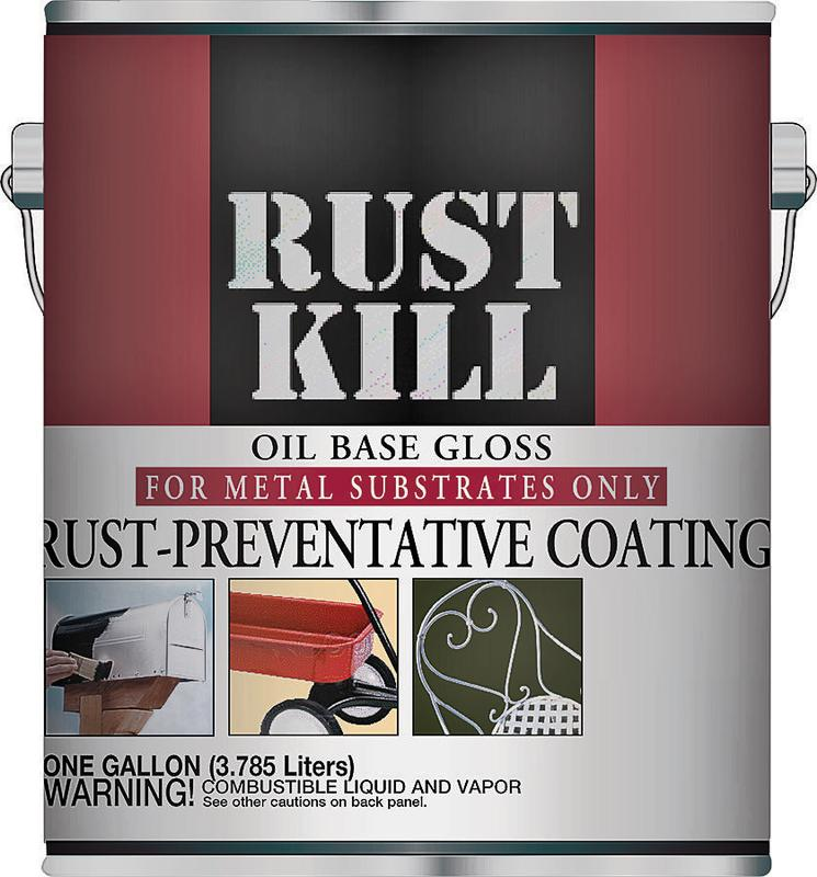 Majic 8-6007 Oil Based Rust Preventive Coating, 1 gal Can, 400 sq-ft/gal, Mach Green