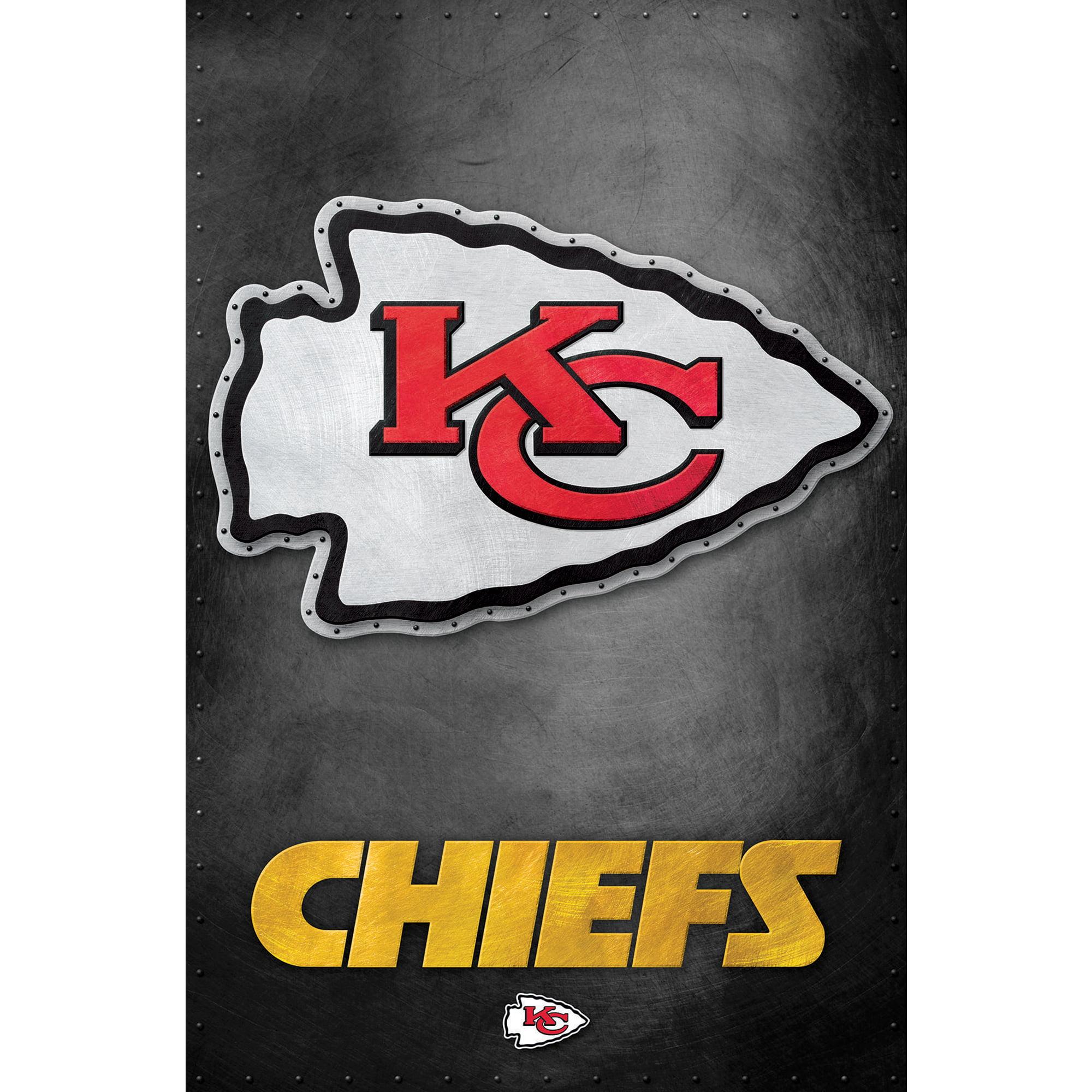 Kansas City Chiefs 22'' x 34'' Logo Poster - No Size ...