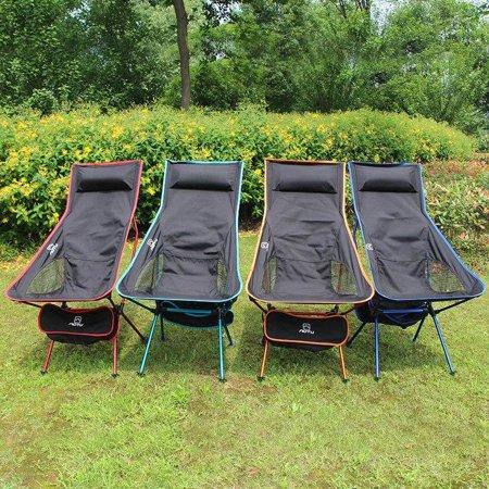 Lightweight Portable Folding High Back Camping Chair Walmartcom