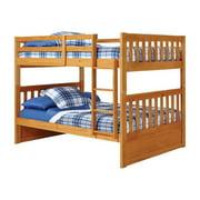 Woodcrest Pine Ridge Full/ Full Mission Bunk Bed white