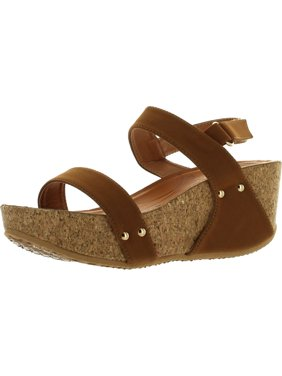fc3b68b7493 Product Image Forever Link Womens FREYA-34 Fashion Stud Embellished Low Top  Wedge Sandals