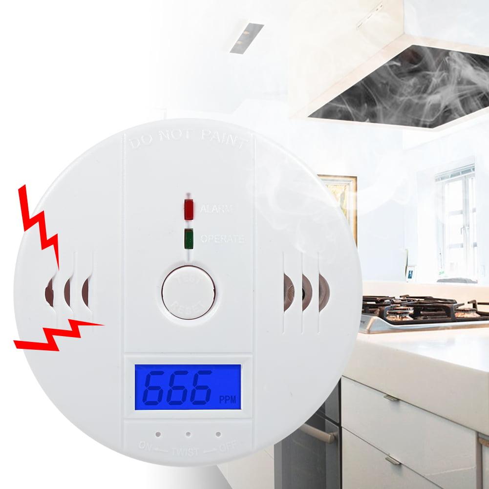WALFRONT 1PC LCD Display CO Carbon Monoxide Detector Sensor Tester with Sound Light Alarm Warning Hot,Carbon Monoxide Detector, Carbon Monoxide Alarm