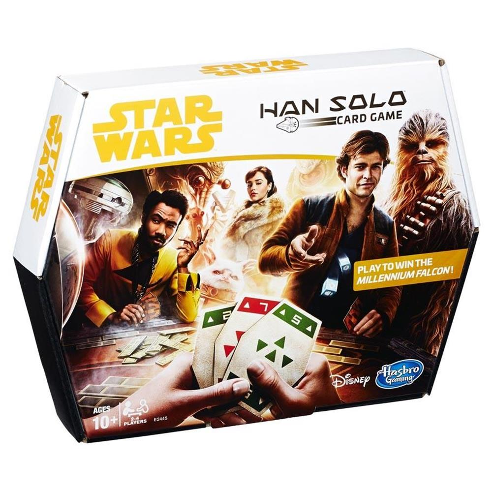 Star Wars Han Solo Card Game Fast Paced Strategy Hasbro HSBE2445 by Hasbro