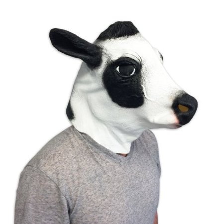 Cow Mask - Funny Animal Masks - Off the Wall Toys](Funny Animal Masks)