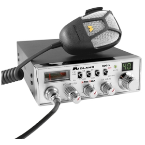 MIDLAND 5001Z 40 CHANNEL FULL FEATURED MOBILE CB RADIO W/ PA