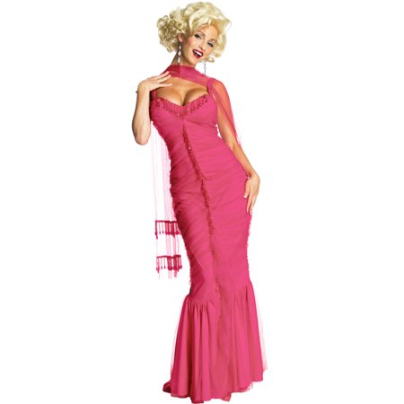 Pink Marilyn Adult Costume - Marilyn Monroe Halloween Costume Pattern